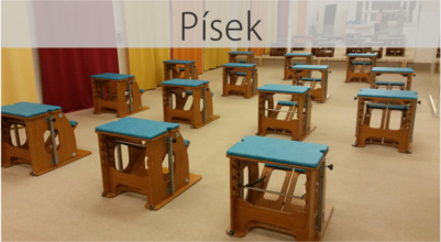 Pilates studio písek mini